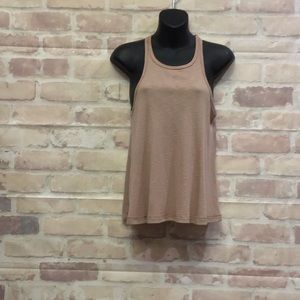 Free People trapeze ribbed tank XS ~ Staple top